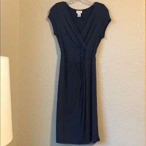Motherhood Maternity blue dress
